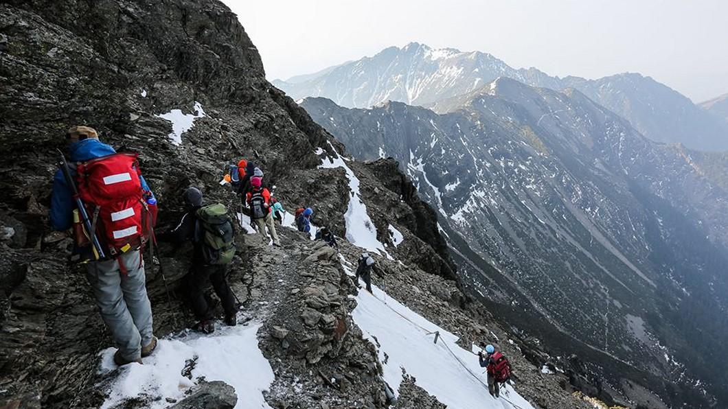 圖/歐陽台生提供 爬黑山事件層出不窮 山友籲路線全面開放