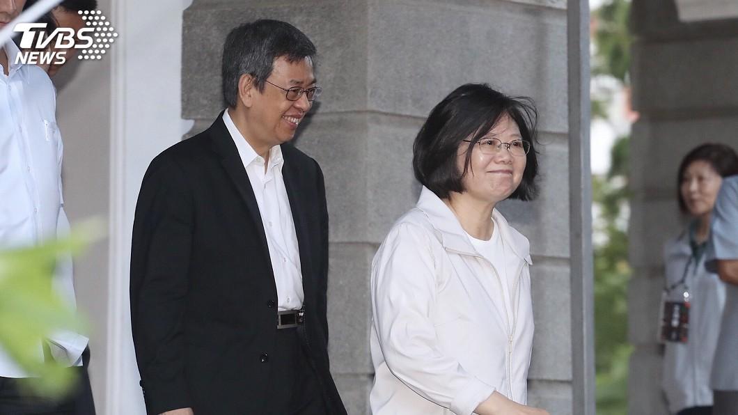 圖/中央社 2020總統大選 段宜康:民進黨「英仁配」最合理