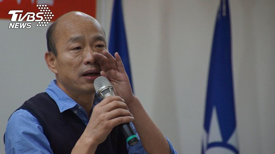 圖/TVBS資料畫面 韓國瑜20年前政見曝光! 網讚:總統格局