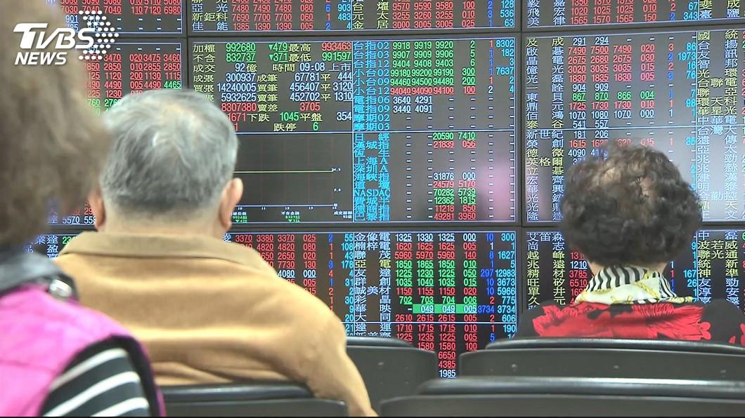 (圖/TVBS資料畫面) 台積電領軍概念股走強 台股盤中翻紅