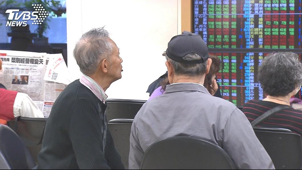 圖/TVBS 美股小漲 台股提防高檔震盪
