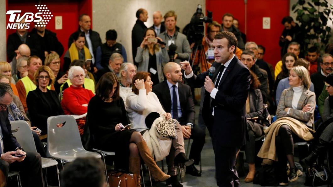 圖/達志影像路透社 喧嘩中更要辯論 法國社會危機用法式風格求解