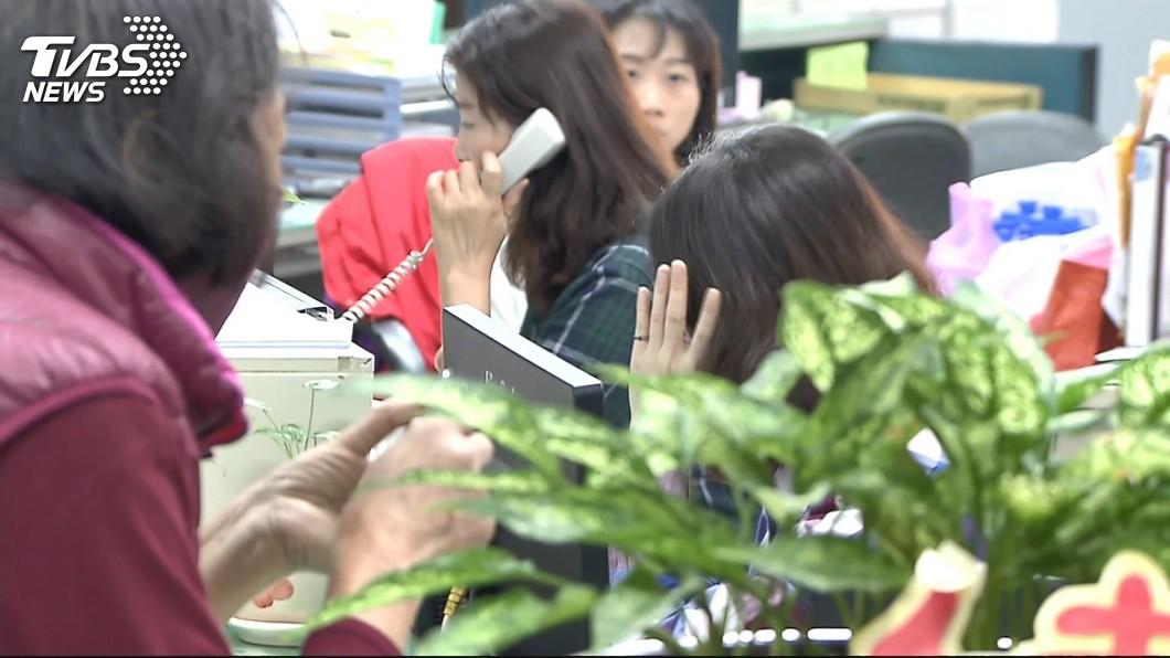 圖/TVBS 公所課長肢體、訊息性騷3女職員 韓國瑜怒開鍘