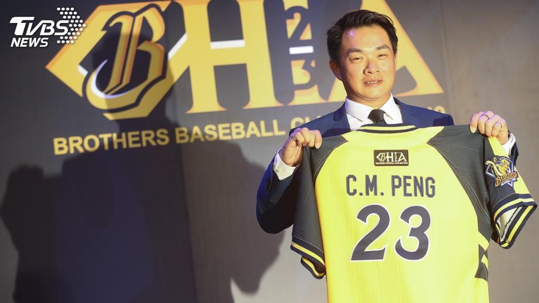 圖/中央社 「中職先生」彭政閔堅持19年 見證棒球興衰