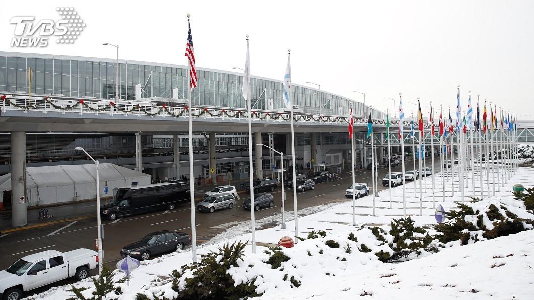 圖/達志影像路透社 極地渦旋襲美中西部8死 芝加哥航班6成取消