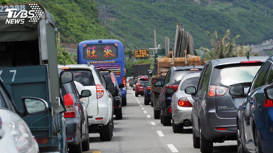 示意圖/中央社 春節台東車流量近58萬輛次 返新竹花12小時