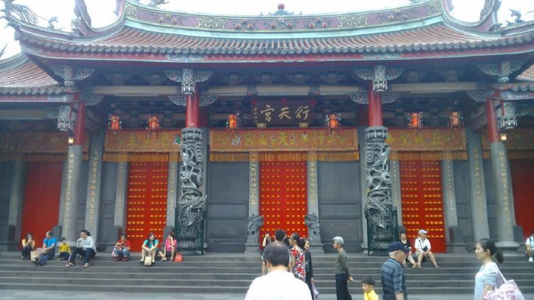 台北行天宮本宮。圖/翻攝自維基百科