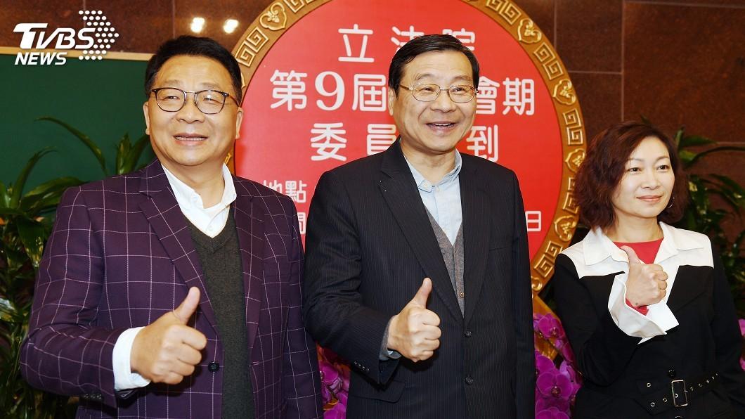圖/中央社 立法院新會期報到 陳靜敏拔得頭籌