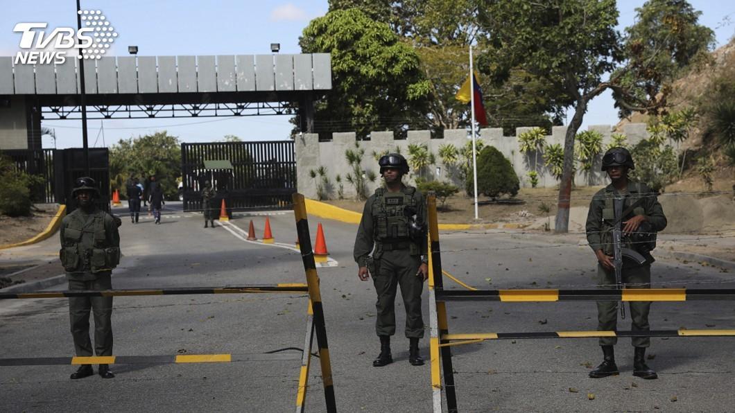 圖/達志影像美聯社 委內瑞拉危機 軍隊將決定誰領導國家