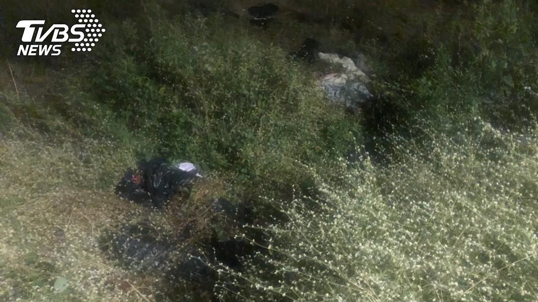 圖/警方提供 恐怖分屍案!台南女與小男友吵架 慘遭肢解棄草叢