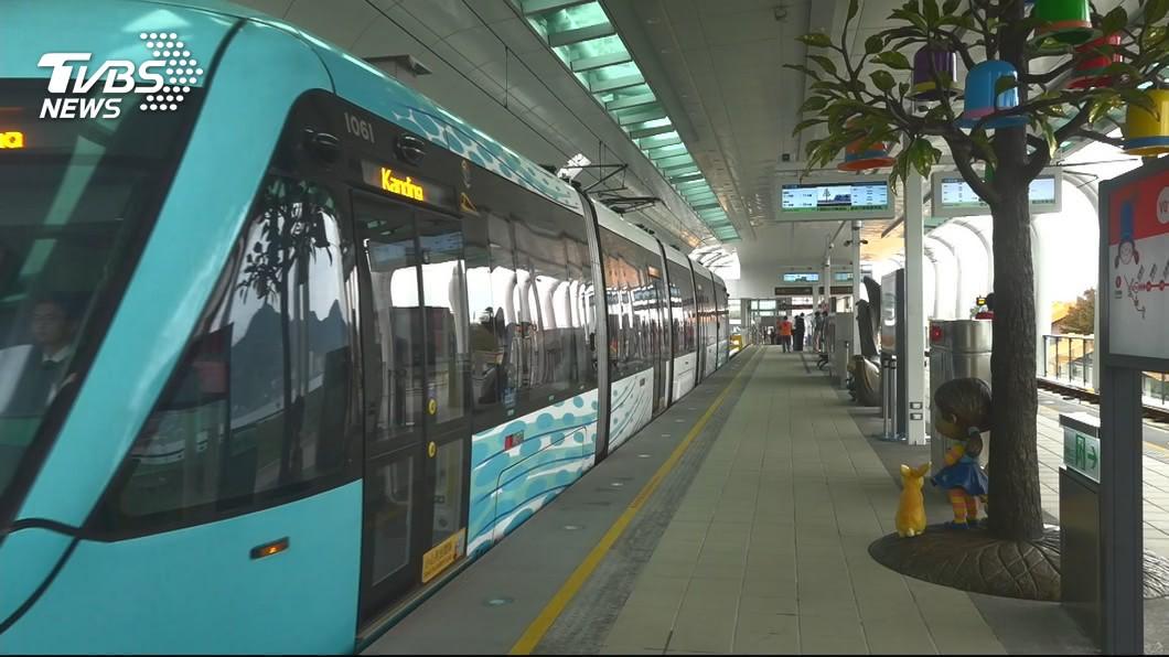 圖/TVBS 淡海輕軌通勤量增 新北捷運公司9月增加班次