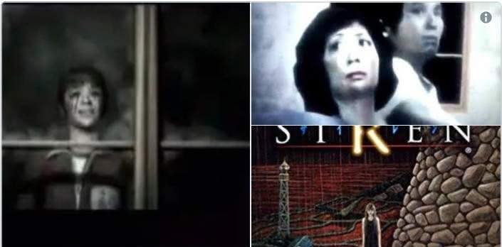 恐怖遊戲《SIREN(死魂曲)》的電視廣告因太過驚悚而遭到禁播。(圖/翻攝自Twitter)