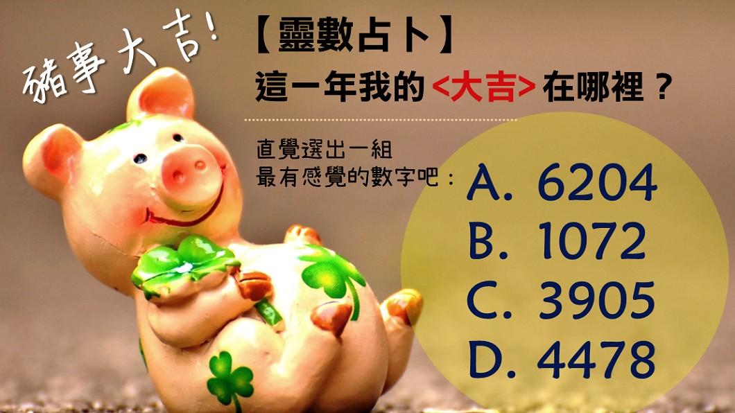 圖/TVBS 【靈數占卜】豬事大吉!這一年我的大吉在哪裡?