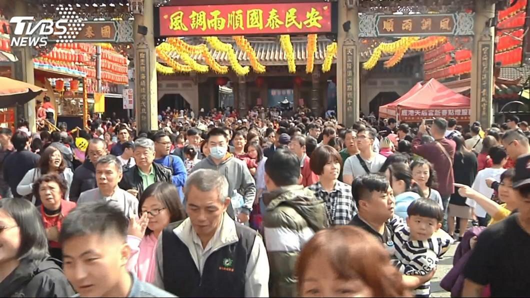 彰化鹿港天后宮(圖/TVBS資料照) 鹿港天后宮百業籤 鼠年「最旺3工作」出爐!它中籤王