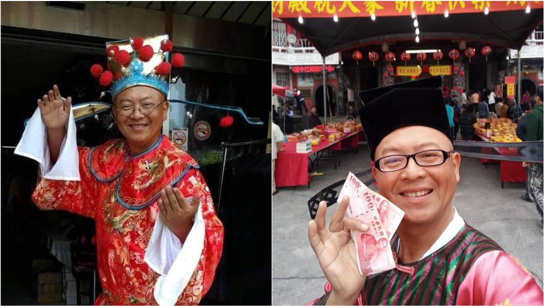 黃宏成宣布參選2022年花蓮縣長。(圖/翻攝自「黃宏成台灣阿成世界偉人財神總統」臉書) 政見打通中央山脈!「財神總統」宣布參選花蓮縣長