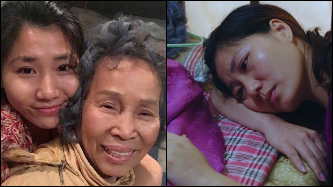 圖/翻攝臉書 洗腎女兒20天開7次刀 女星崩潰哭喊:不要救了…