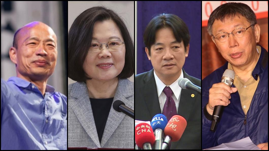 圖/TVBS組圖 2020大選誰的贏面大?詹惟中解析「她有跛腳危機」
