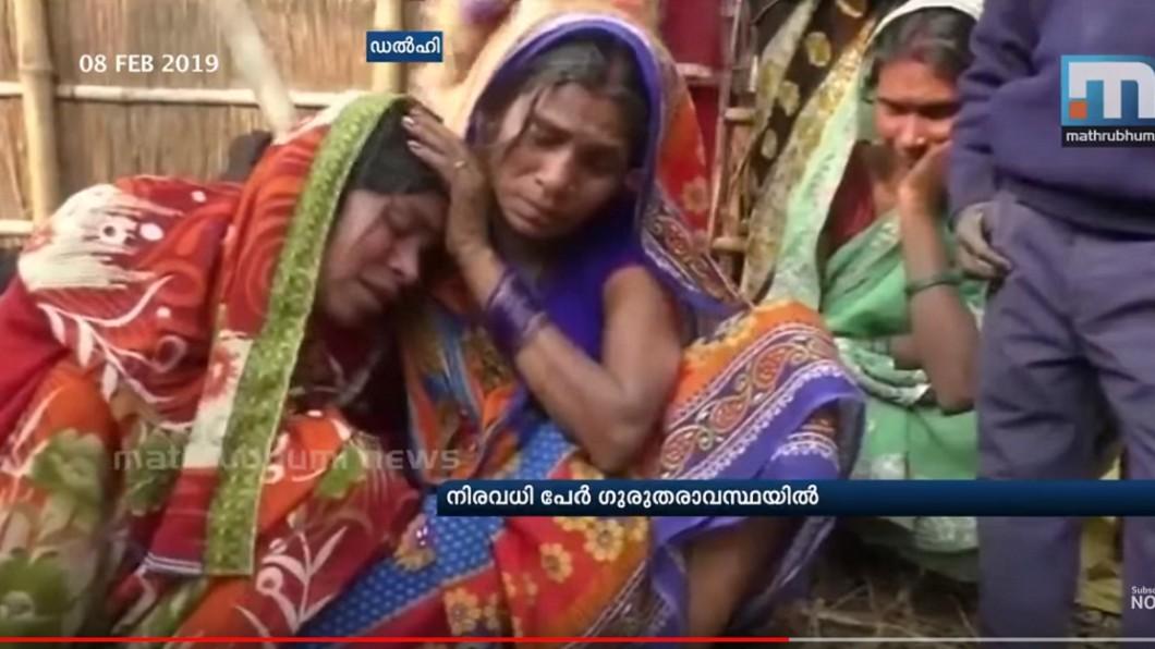 死者家屬崩潰痛哭。圖/翻攝自「Mathrubhumi News」YouTube