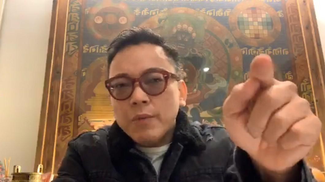 詹惟中對阿翔和謝忻復出的運勢做出預測。圖/翻攝自詹惟中臉書