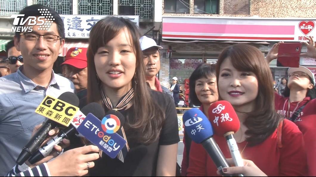 圖/TVBS資料照 網稱「動員20萬人罷免韓」輕鬆 韓冰大笑回應了