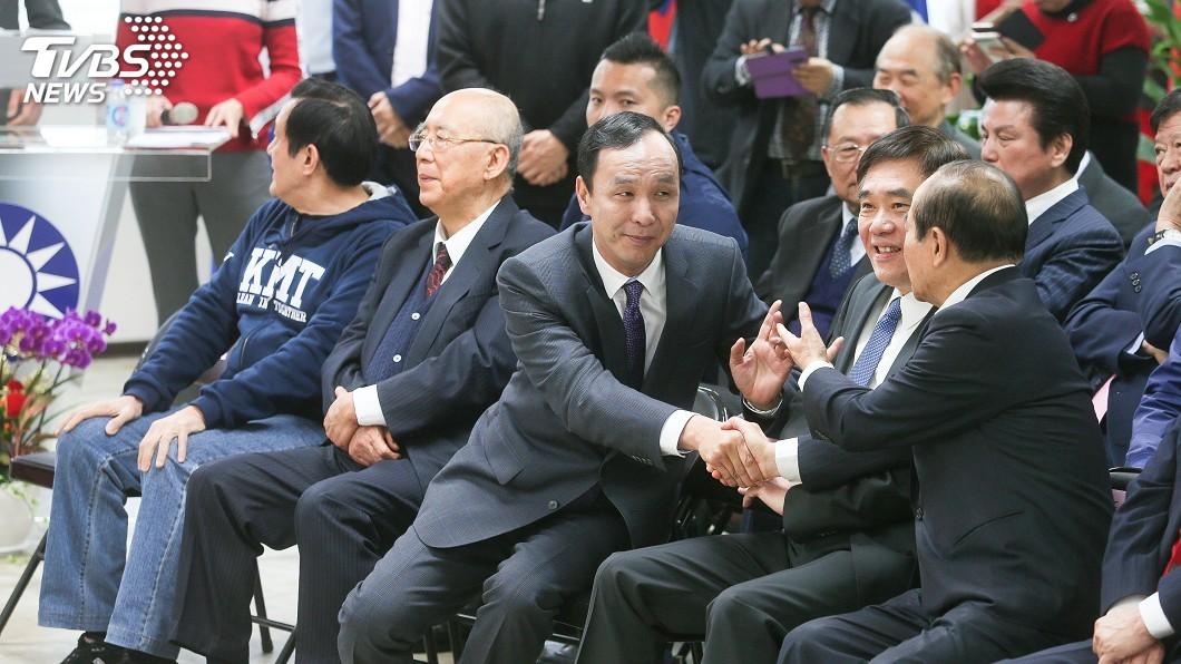 圖/中央社 黨內拱韓國瑜選總統 朱立倫:獲提名就全黨支持