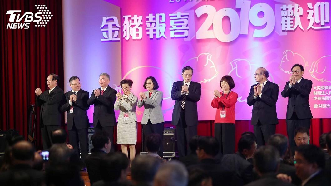 圖/中央社 蔡總統:從不反對兩岸交流 爭議應坐下來談