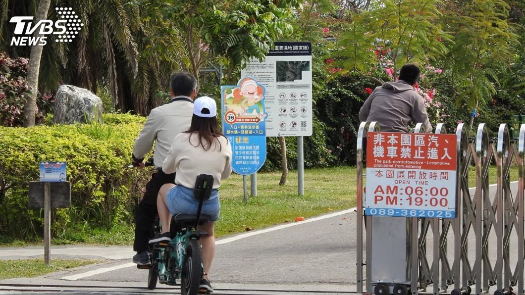 圖/中央社 春節創紀錄! 台東森林公園逾6萬人次入園