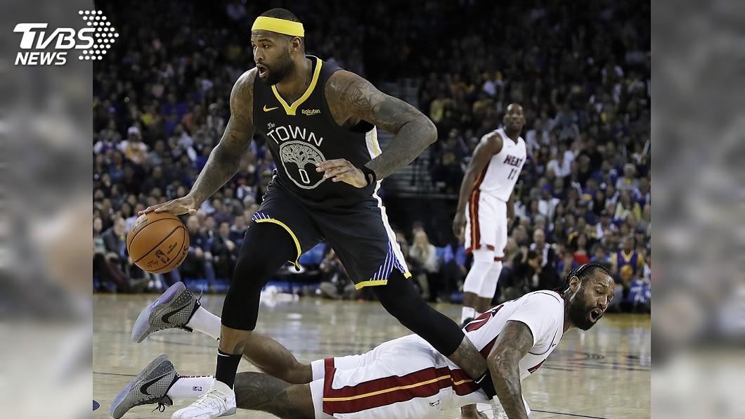 圖/達志影像美聯社 柯森斯關鍵兩罰得手 NBA勇士氣走熱火