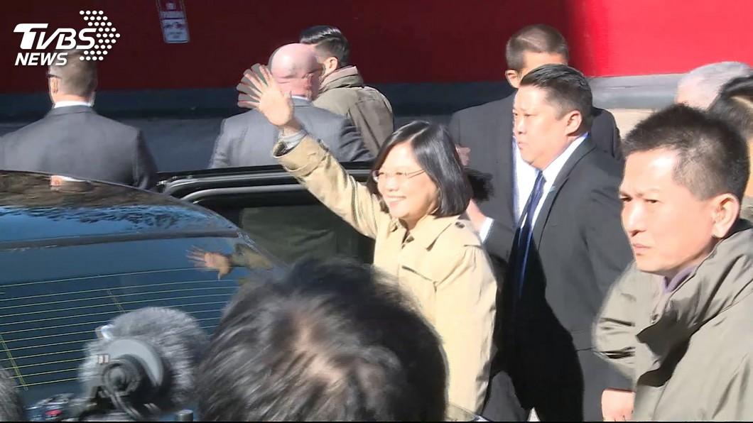 總統蔡英文。圖/TVBS資料畫面