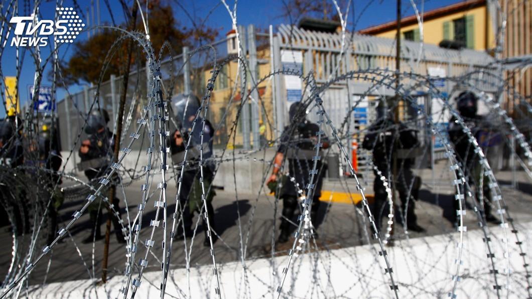 圖/達志影像路透社 加州擬撤駐美墨邊界國民兵 打臉川普國安危機說