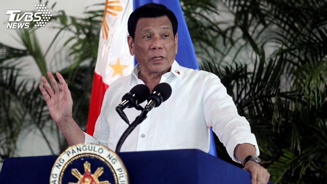 圖/達志影像路透社 不滿殖民者命名 杜特蒂贊成改菲律賓國名