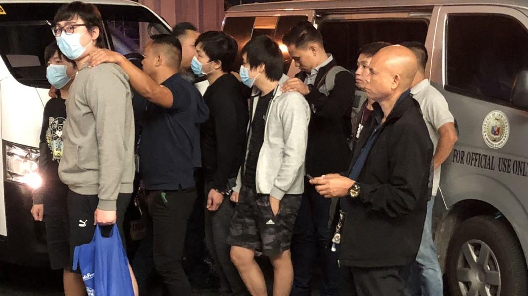 圖/駐菲律賓代表處提供 7名台籍詐嫌在菲被捕 今晨遣送北京