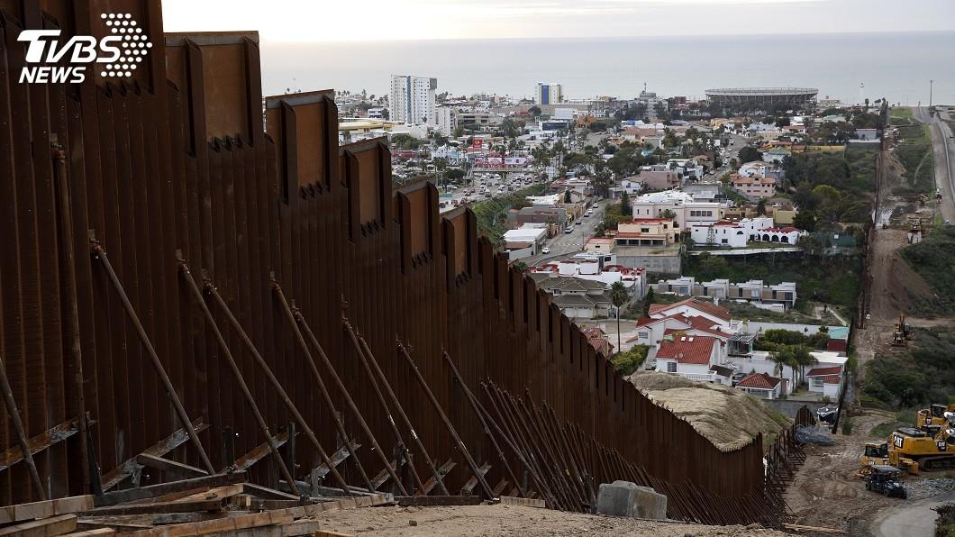 圖/達志影像美聯社 美墨邊牆協商達原則性協議 傳不含57億築牆費