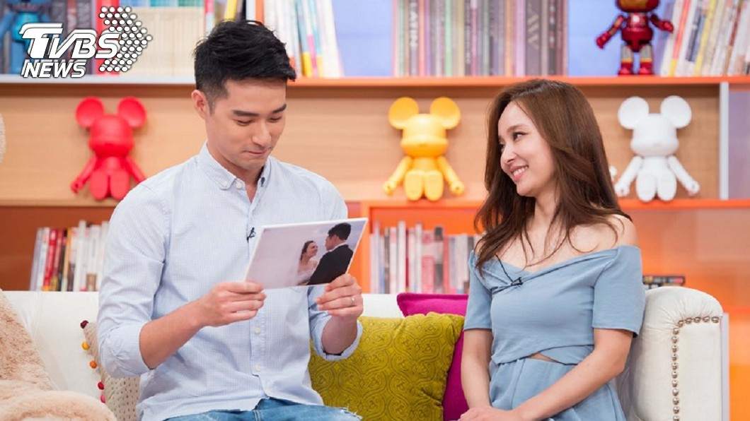 圖/TVBS 愛紗前夫道歉「沒讓她快樂」 婚後1年已有裂痕