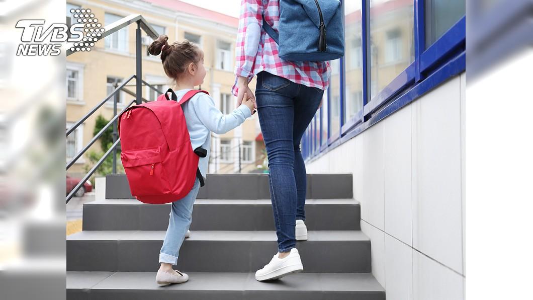 示意圖。圖/TVBS 5歲女童許願「我想上學」 美夢成真直呼:我好開心