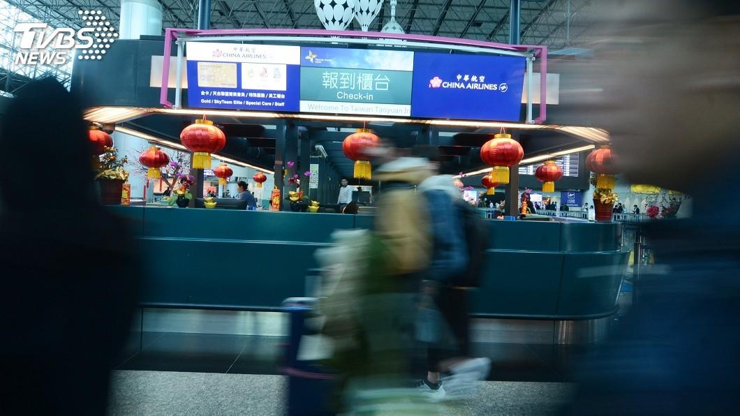圖/TVBS 快訊/罷工Day5 華航一次宣布未來8天取消航班