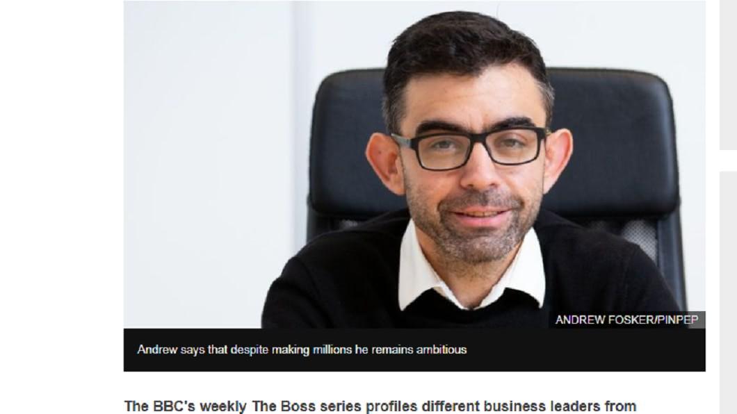 9年後,麥可賣掉公司晉升億萬富翁。圖/翻攝自 BBC