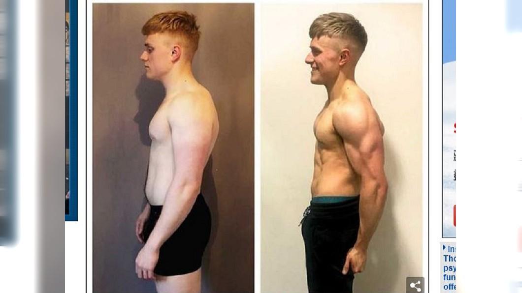 喬維特不願放棄,透過訓練讓自己變成大隻佬。圖/翻攝自Daily Mail網站