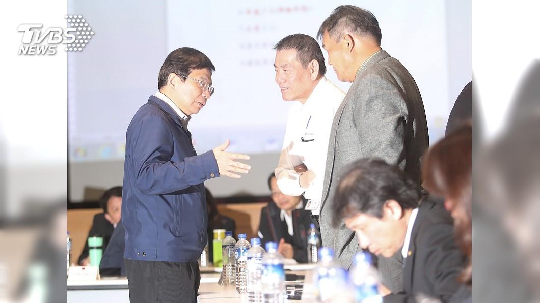 圖/中央社 工會喊「罷工一個月」 王國材動怒:不要威脅我!