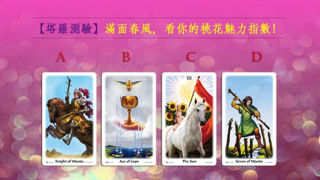 圖片來源:轉命師星座塔羅牌 FateShifters Astrology Tarot 【塔羅測驗】滿面春風!看你的桃花魅力指數