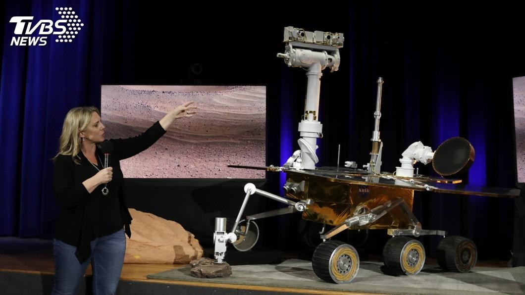 圖/達志影像美聯社 向火星探測車機會號告別 NASA宣布任務結束