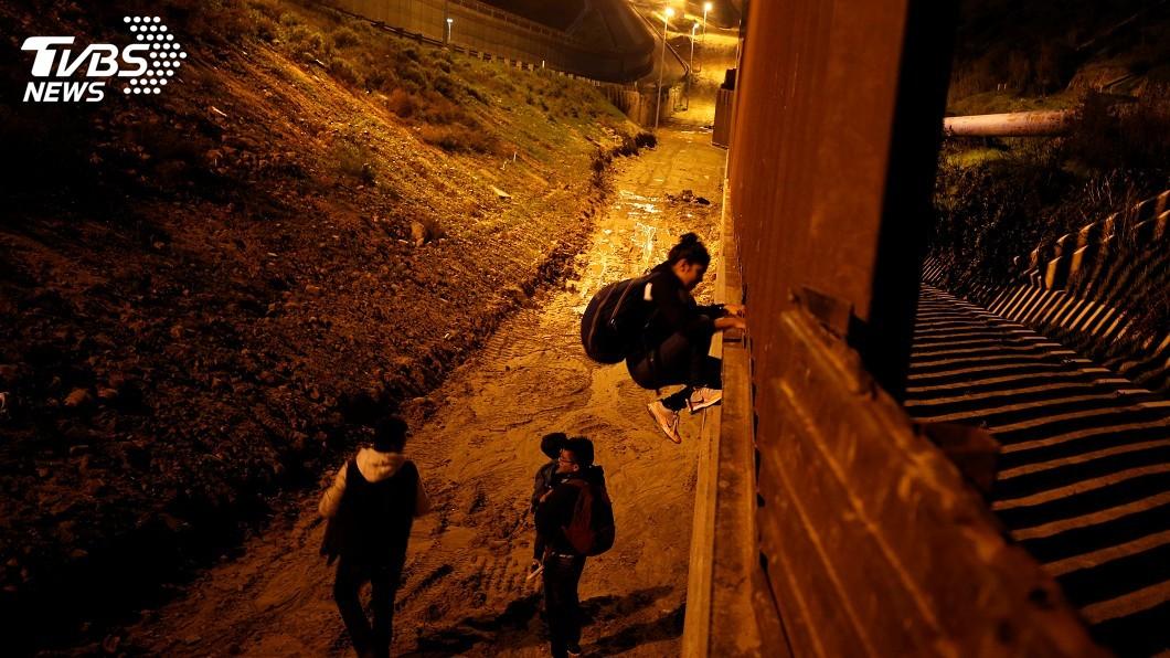 圖/達志影像路透社 邊界築牆立場堅定 川普:比攀登聖母峰更艱難