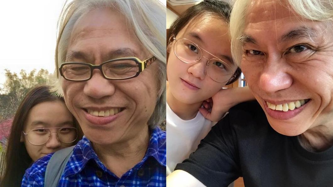 圖/翻攝自李坤城臉書 爺孫戀6年現況曝光 李坤城2字告白小女友