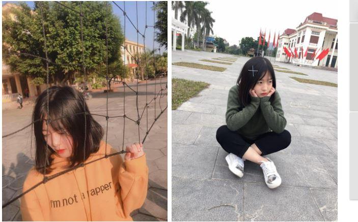 正妹店員Lê Như Quỳnh生活照。圖/翻攝自攝自soha.vn