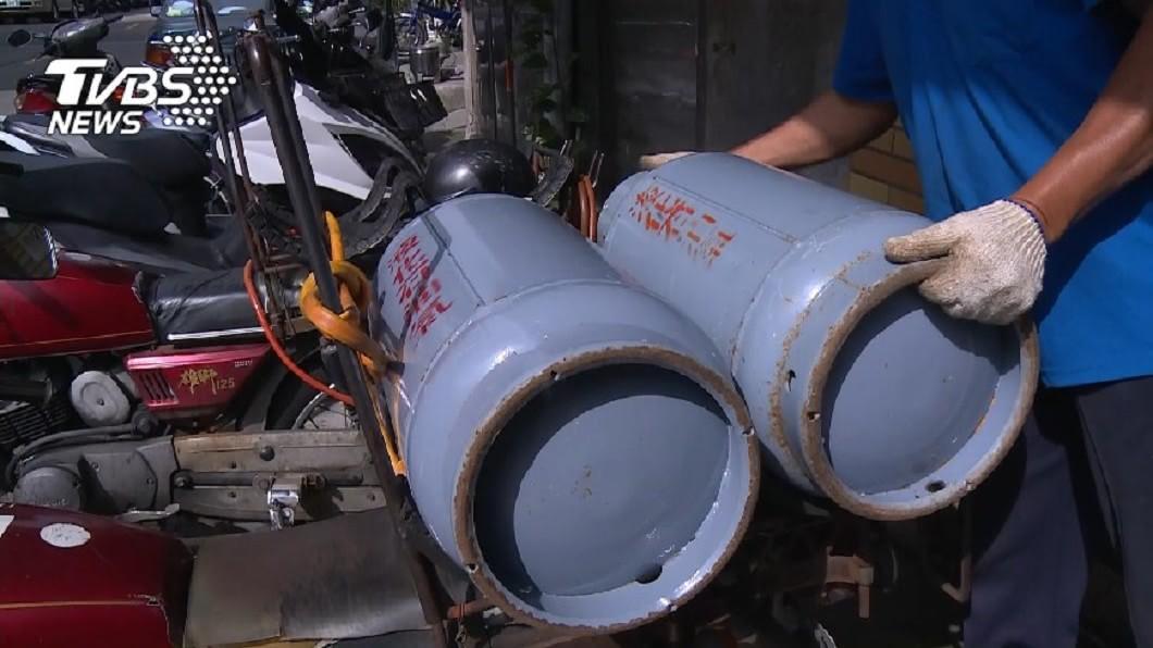 (圖/TVBS) 12月天然氣調漲2.85% 桶裝瓦斯連3漲