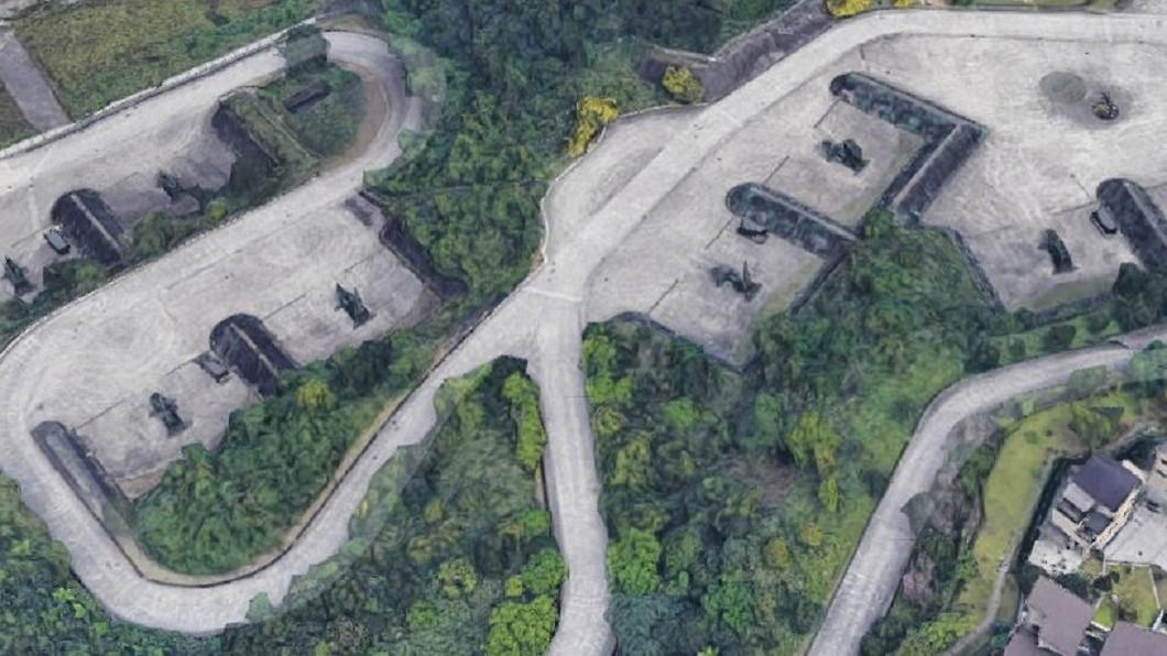 圖/翻攝自Google地圖 愛國者飛彈陣地全都露 嚴德發:協調Google處理
