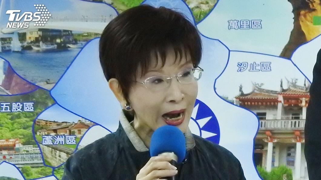 圖/中央社 洪秀柱:不可能陣前換將 若「換韓」國民黨可打包了