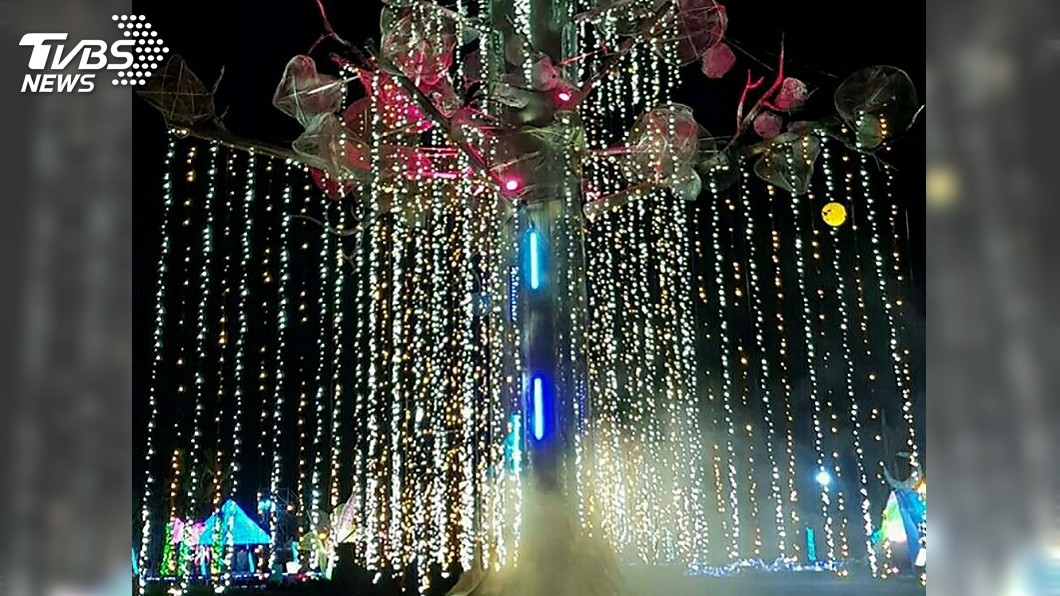 圖/中央社 台灣燈會試營運 跨國藝術家合作展創意