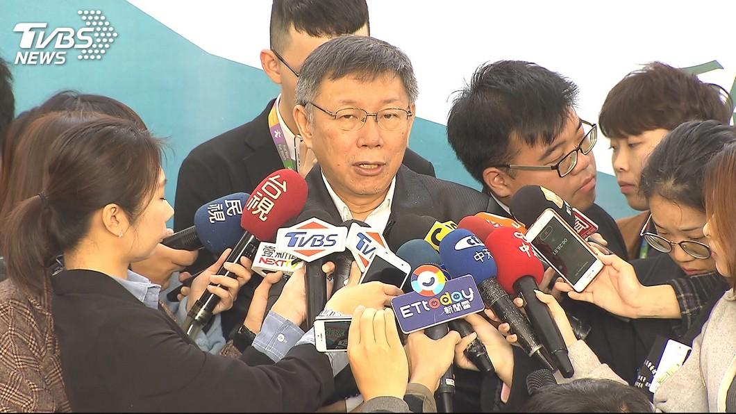 圖/TVBS 柯文哲譏「喊台獨又取消徵兵」 國防部這樣回應