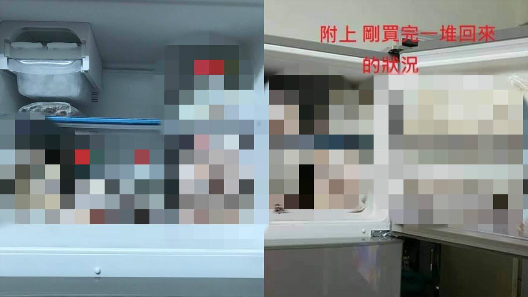 圖/翻攝自爆怨公社臉書 強迫症冰箱!全家邪教擺法 8千網跪:比餐廳還強